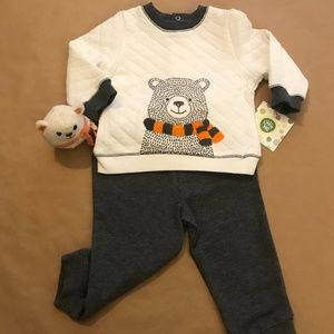 2 piece Fleece Set- Infant Boy